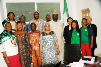 MANTRA Team @ the State House in Abuja